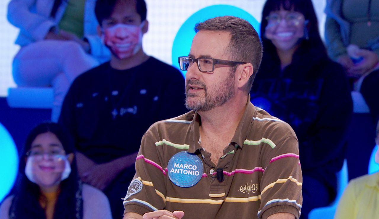 ¡Revelador! Marco Antonio confiesa el detalle de Roberto Leal que le pone nervioso en 'Pasapalabra'