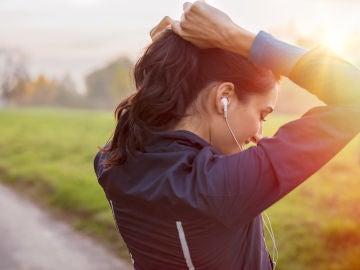 Peinado para hacer ejercicio