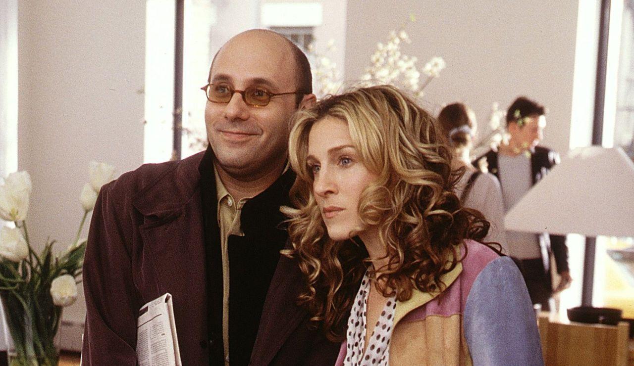 Sarah Jessica Parker y Willie Garson en 'Sexo en Nueva York'