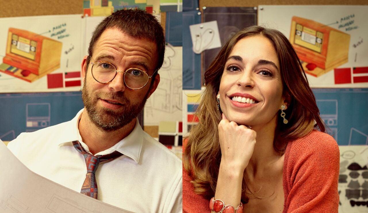 Carles Francino y Carlota Baró son Fran y Coral en 'Amar es para siempre'