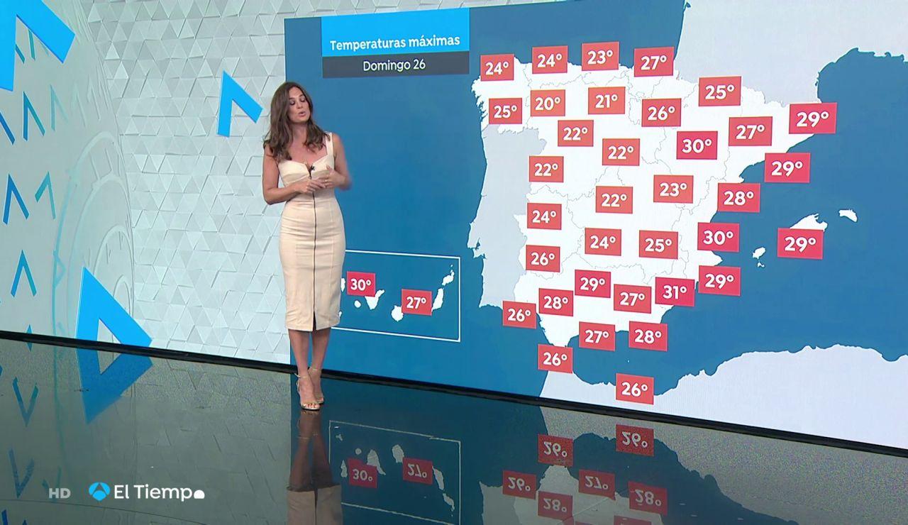 Las lluvias fuertes se trasladan al entorno del Pirineo y este de Castilla-La Mancha