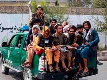 Taliban patrol in Kabul, Afghanistan, 23 September 2021.