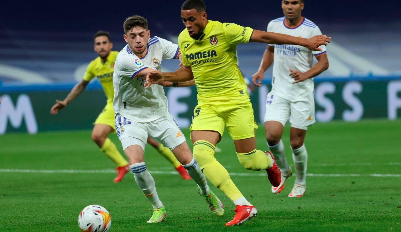 El Real Madrid se atasca en el Bernabéu ante un gran Villarreal