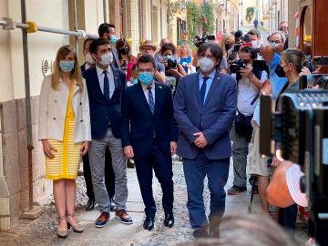 """Carles Puigdemont denuncia que """"el Gobierno solo quiere dialogar con quienes le dan apoyo parlamentario"""""""