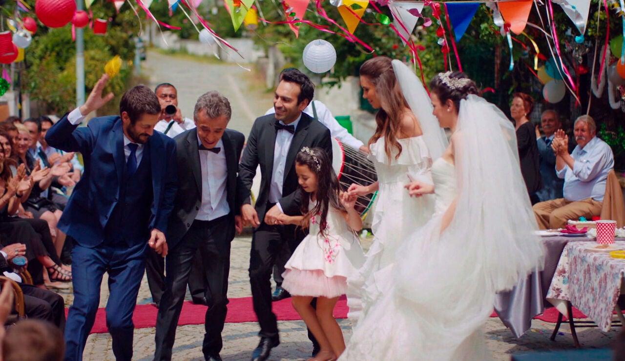 Una celebración del amor por todo lo alto según la tradición turca