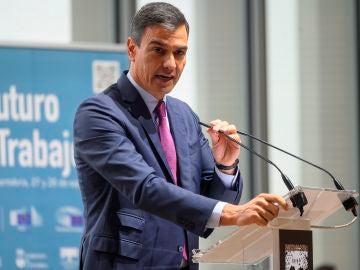 Pedro Sánchez sobre el SMI