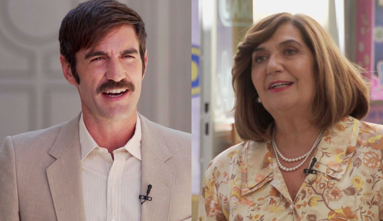 Ane Gabarain y Jon Plazola, repiten como madre e hijo en la ficción: ¿cómo ha sido su reencuentro?