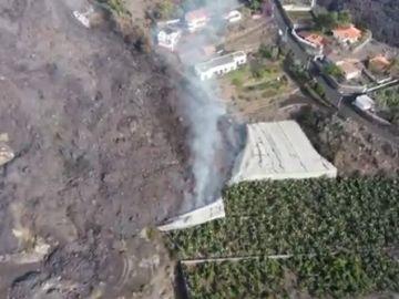 Erupción hawaiana del volcán