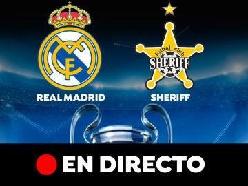 Real Madrid - Sheriff Tiraspol: Partido de hoy de Champions League, en directo
