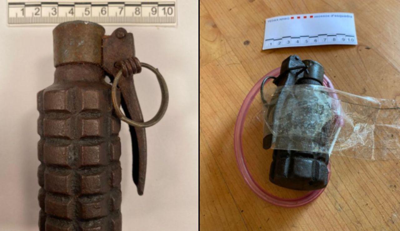 Dos detenidos por colocar una granada de la guerra civil en una casa que iba ser desocupada