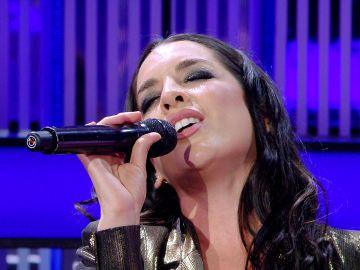 ¡Espectacular! Ruth Lorenzo improvisa y canta en directo 'It must have been love'