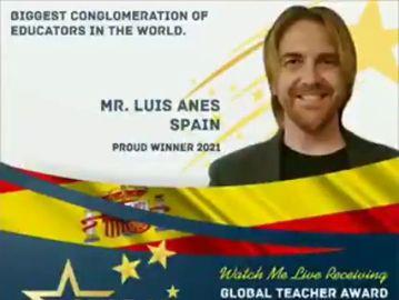 Un profesor de Huelva, ganador del Global Teacher Award 2021