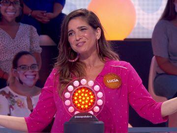 "Julio Iglesias se le resiste a Lucía Jiménez en 'Pasapalabra': ""Estoy ya ralladísima"""