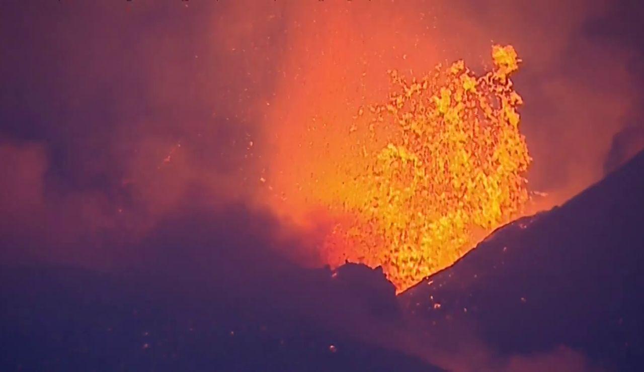 lava explosividad