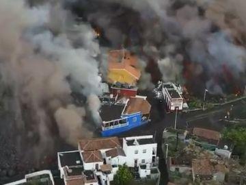 La lava ya ha sepultado 605 casas en La Palma y la intención del Gobierno canario es comprar 200 de aquí a final de año