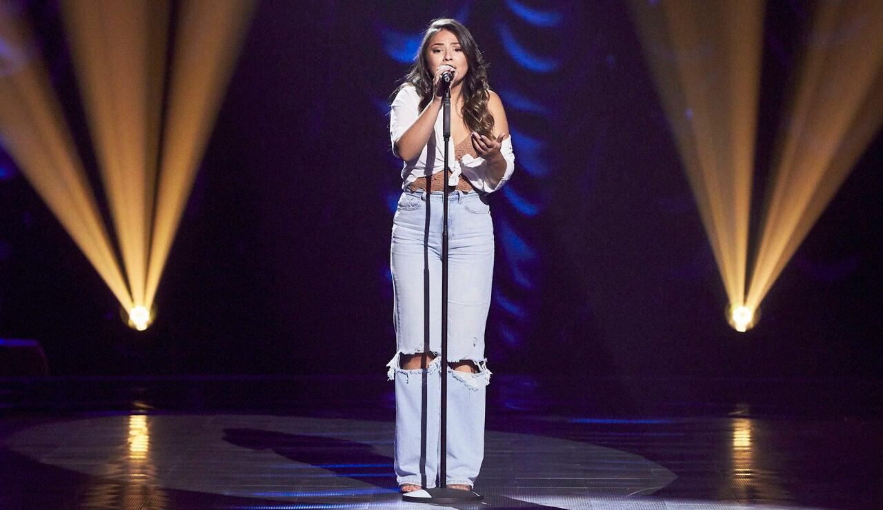 Tomasa Peña canta 'Cai' en las Audiciones a ciegas de 'La Voz'