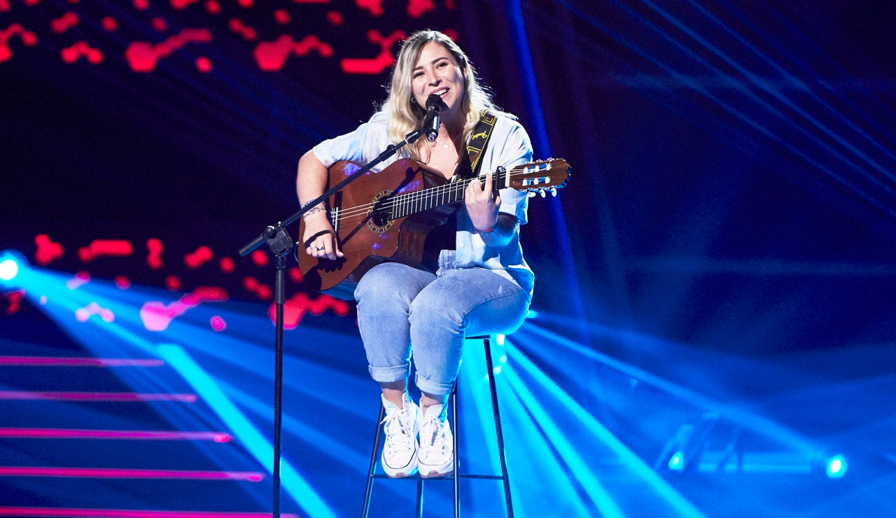 Amanda Liñán canta 'Durmiendo sola' en las Audiciones a ciegas de 'La Voz'