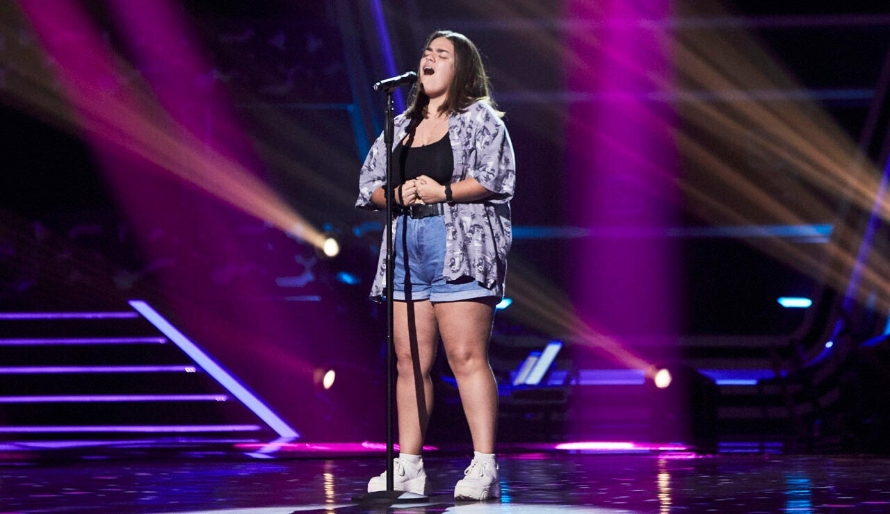 Inés Manzano canta 'Before you go' en las Audiciones a ciegas de 'La Voz'