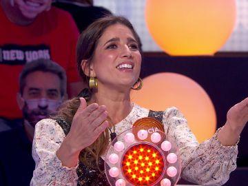 """""""¡Qué bien cantan las dos!"""": Inesperado duelo de voces entre Lucía Jiménez y Carolina Iglesias en 'Pasapalabra'"""