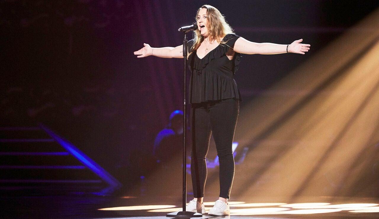 Noemí Martínez canta 'Running' en las Audiciones a ciegas de 'La Voz'