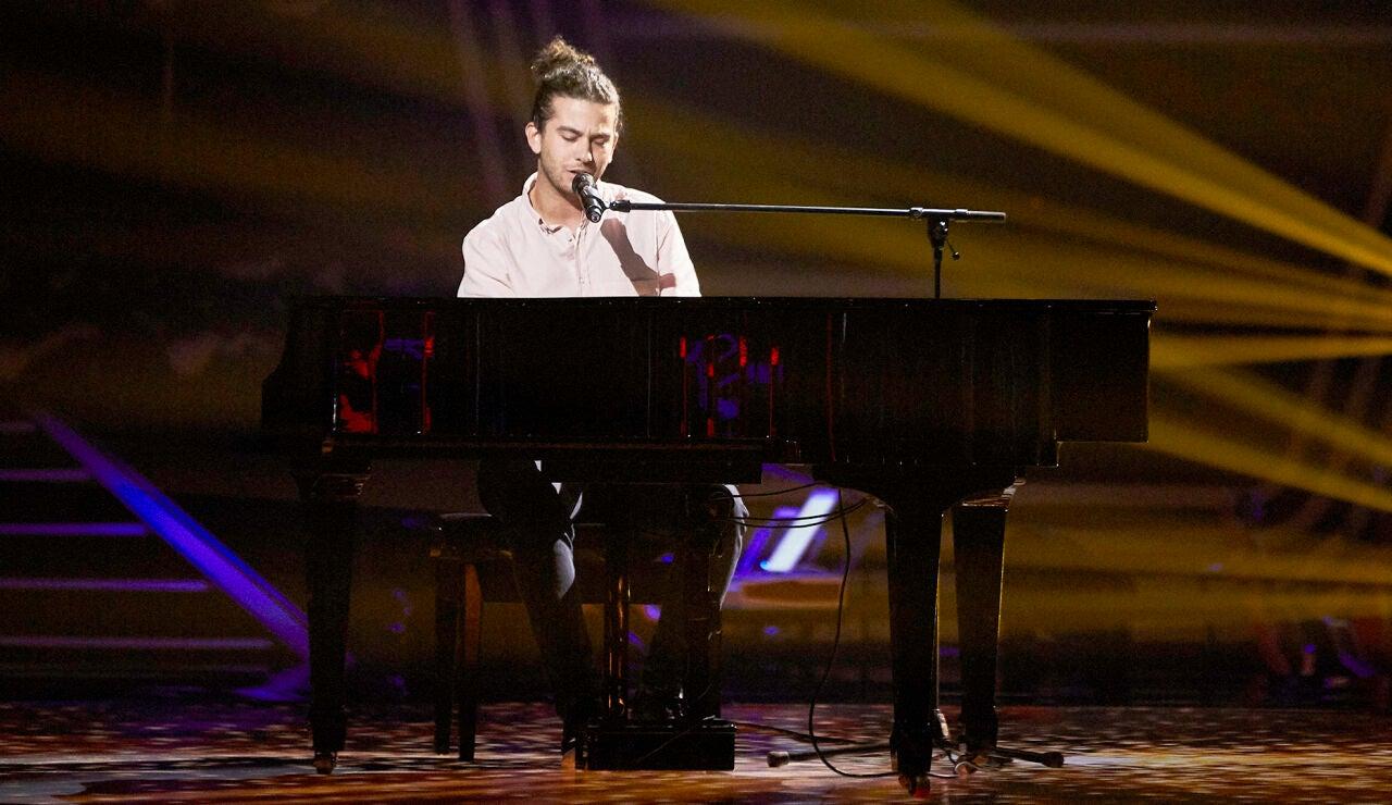 Mariano Ciaravolo canta 'Rocketman' en las Audiciones a ciegas de 'La Voz'