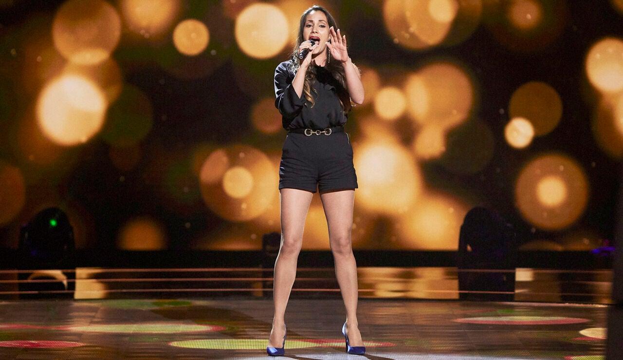 Yuritza Rodríguez canta 'Lost on you' en las Audiciones a ciegas de 'La Voz'