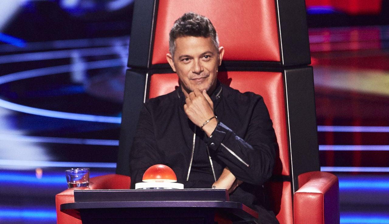 Alejandro Sanz en las Audiciones a ciegas de 'La Voz'