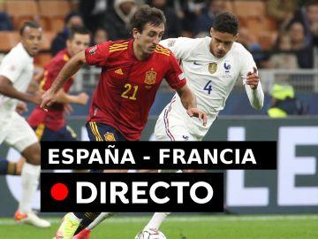 España - Francia: Resultado del Final de la Nations League, en directo (0-0)