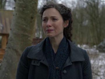 Caitriona Balfe como Claire en la temporada 6 de 'Outlander'