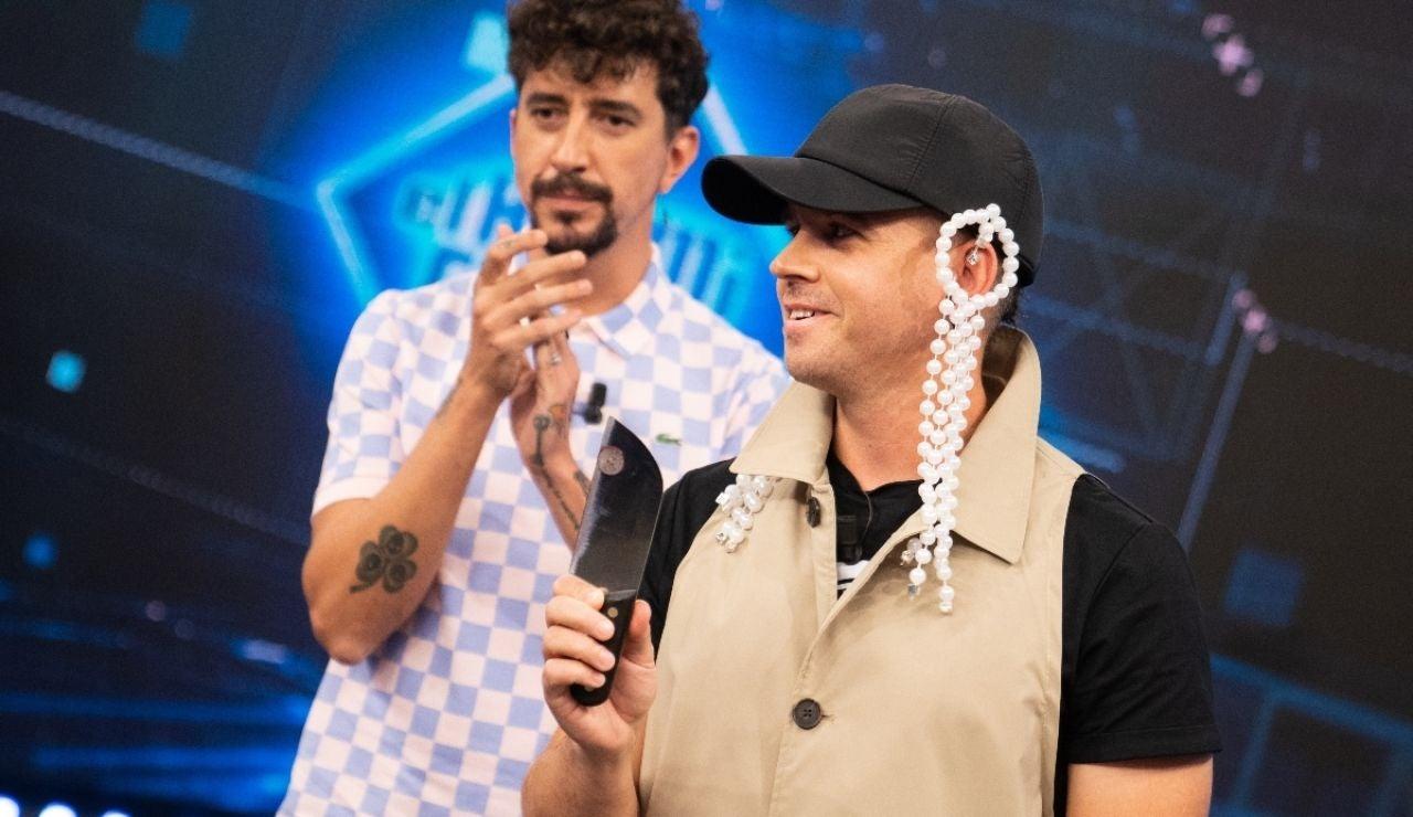 Marron trae el cuchillo más afilado del mundo, ¿conseguirá el corte perfecto Dabiz Muñoz?