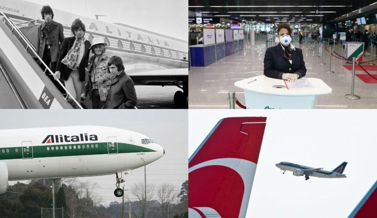 El último vuelo de Alitalia