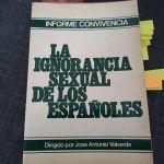 La ignorancia sexual de los españoles