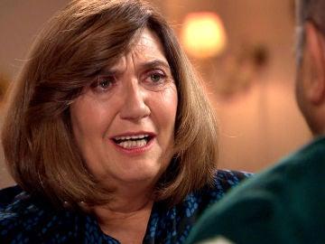 Carmen y Raúl se resisten a aceptar que Germán se muere sin remedio