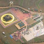 Piramide central del complejo del Nuwaubianismo