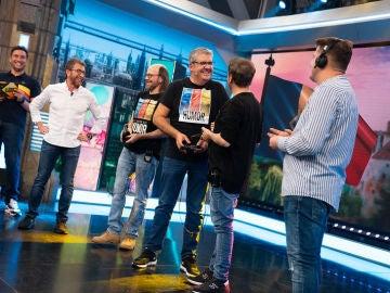 ¡Todo unos bilingües! Santiago Segura, José Mota y Florentino Fernández se ponen a prueba hablando rumano