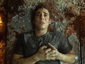 Miguel Herrán como Río en el final de 'La casa de papel'