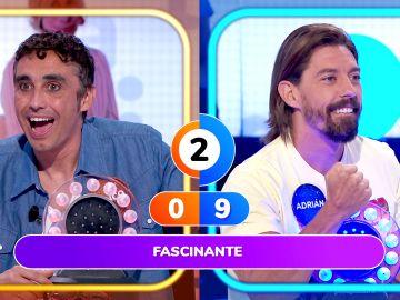 La 'alucinante' suerte de Adrián Lastra en 'La Pista': ¡Gana con una sola palabra!