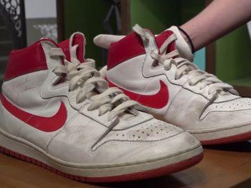 Las zapatillas que Michael Jordan uso durante su primera temporada en la NBA salen a subasta por 1,5 millones