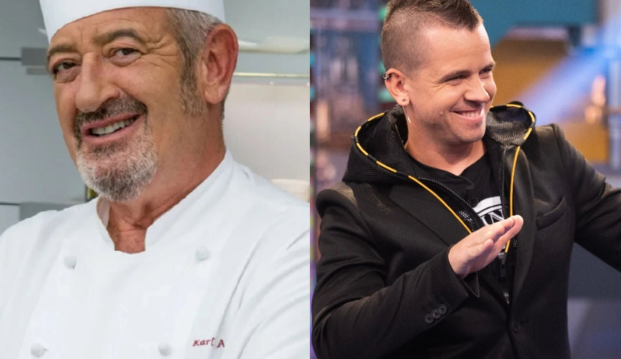 Karlos Arguiñano se deshace en halagos hacia el chef Dabiz Muñoz