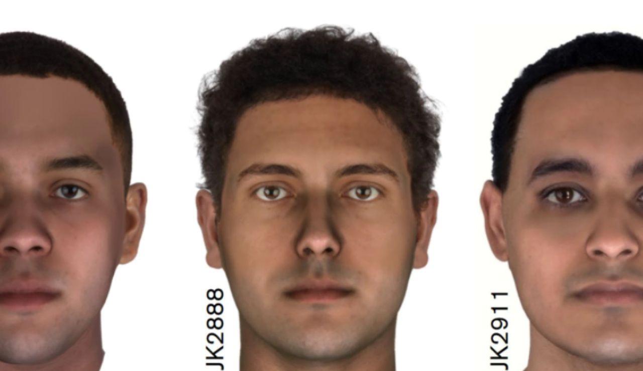 Estos son los rostros ocultos bajo tres momias egipcias de hace más de 2000 años