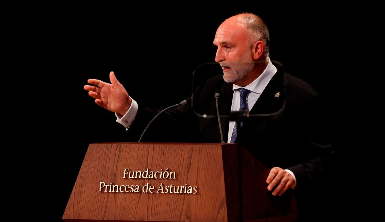 José Andrés recoge su Premio Princesa de Asturias 2021