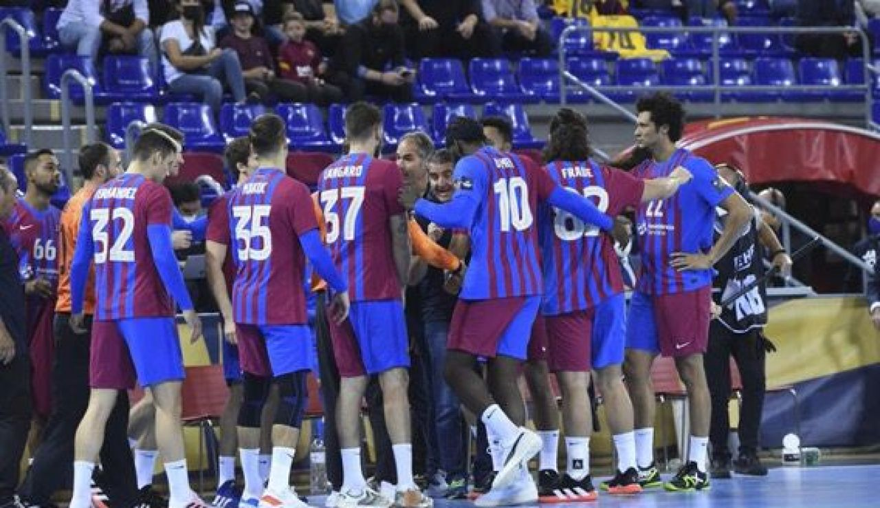 Primer equipo Barça de balonmano