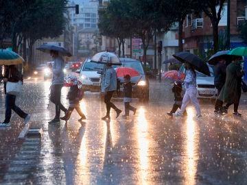 Lluvia en la Comunidad Valenciana