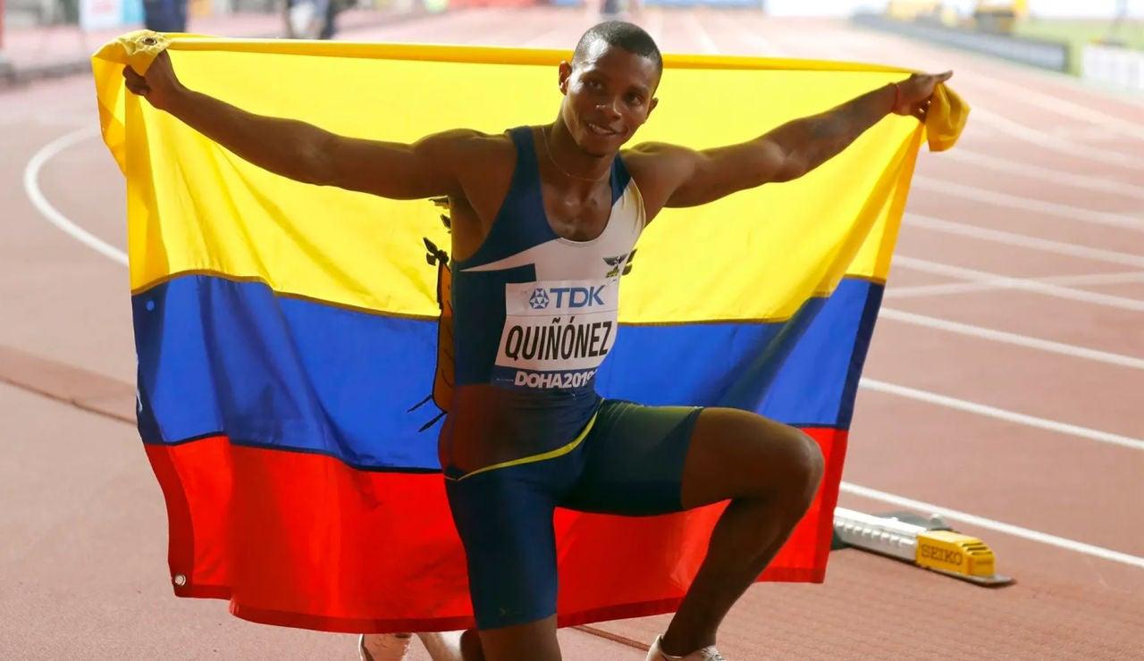 Deportes Antena 3 (23-10-21) Asesinan a tiros al velocista olímpico ecuatoriano Alex Quiñónez