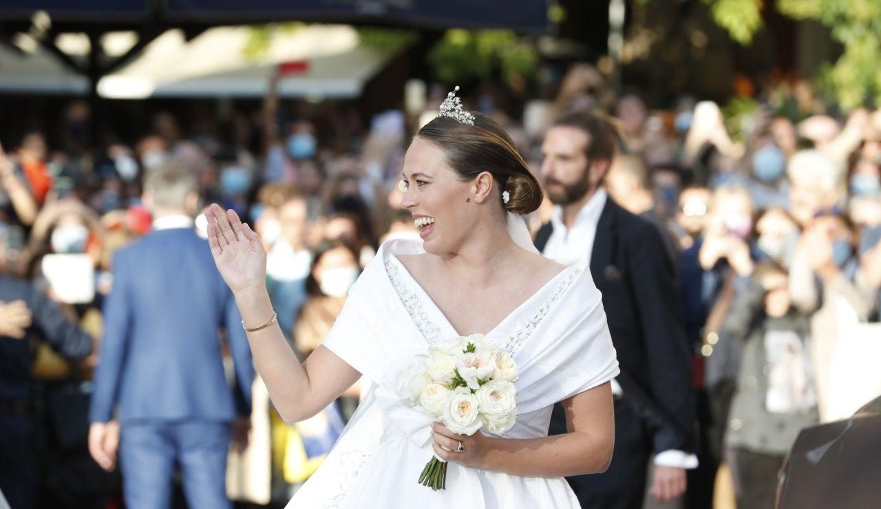 Todos los detalles de la boda de Nina Flohr y Philippos de Grecia