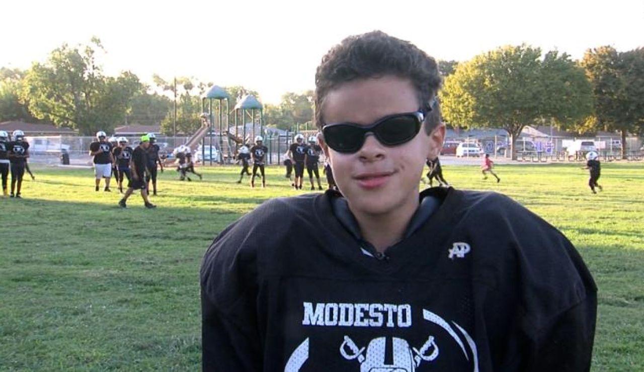 Jasen Bracy, el quarterback ciego que sueña con la NFL