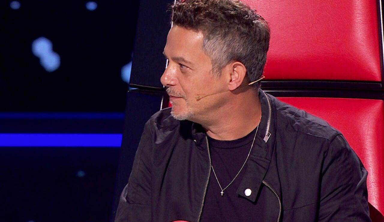 Alejandro Sanz sufre un lapsus en 'La Voz'