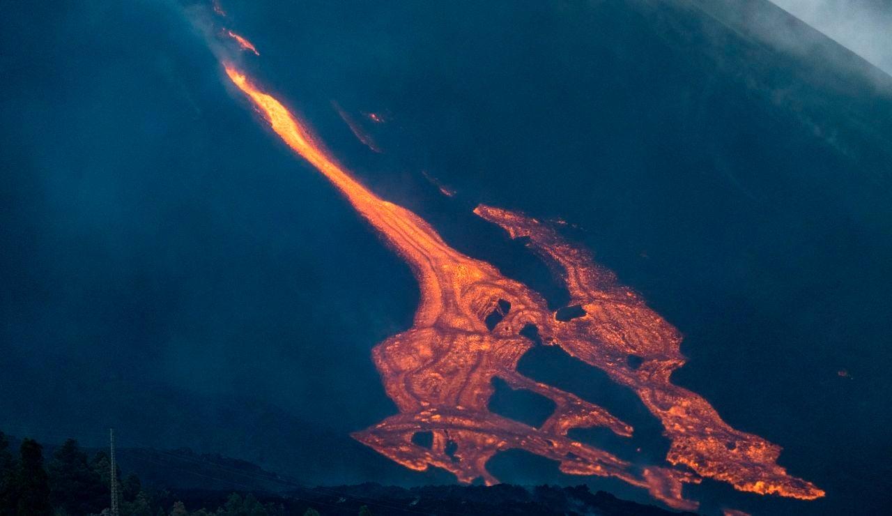 Nueva boca del volcán