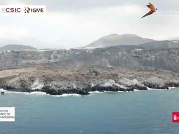 Fajana del volcán de La Palma
