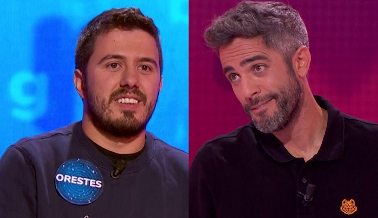 Orestes Barbero y Roberto Leal en 'Pasapalabra'